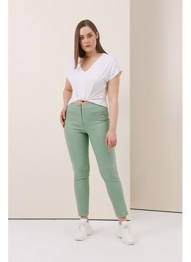 Gusto Sihirli Pantolon - Saks Sihirli Pantolon - Saks Yeşil